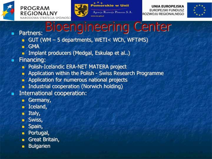 Bioengineering Center