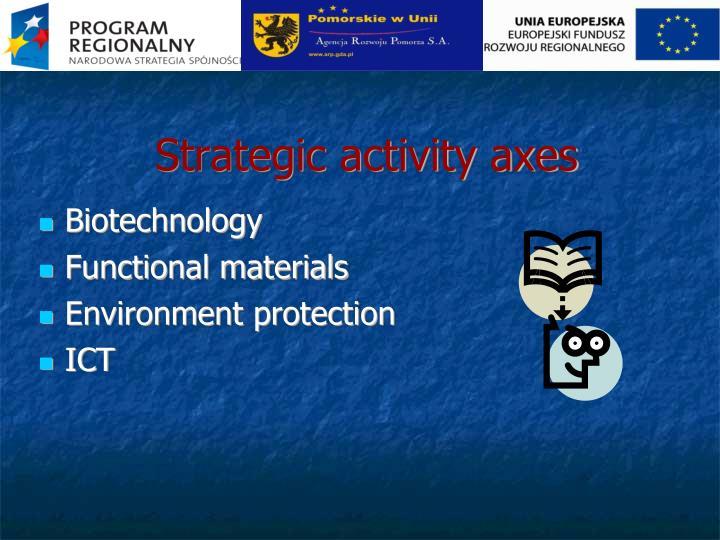 Strategic activity axes