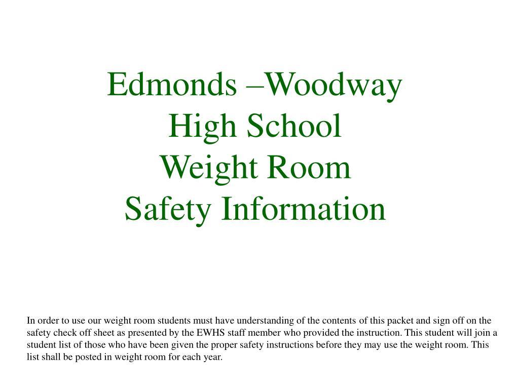Edmonds –Woodway