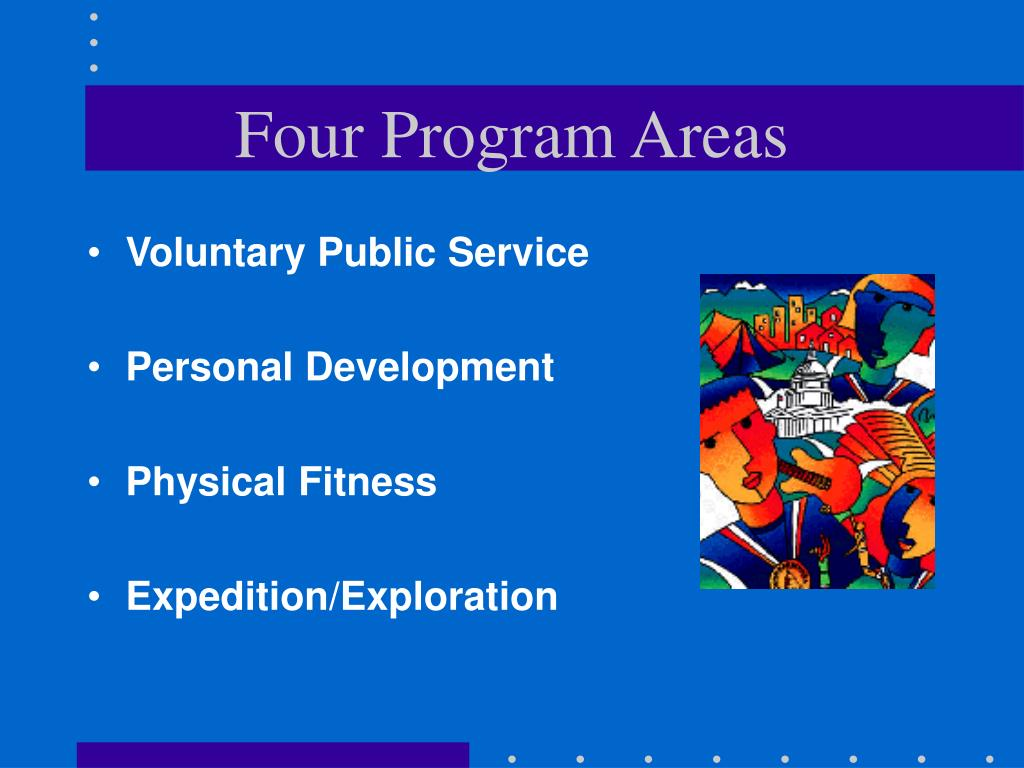Four Program Areas