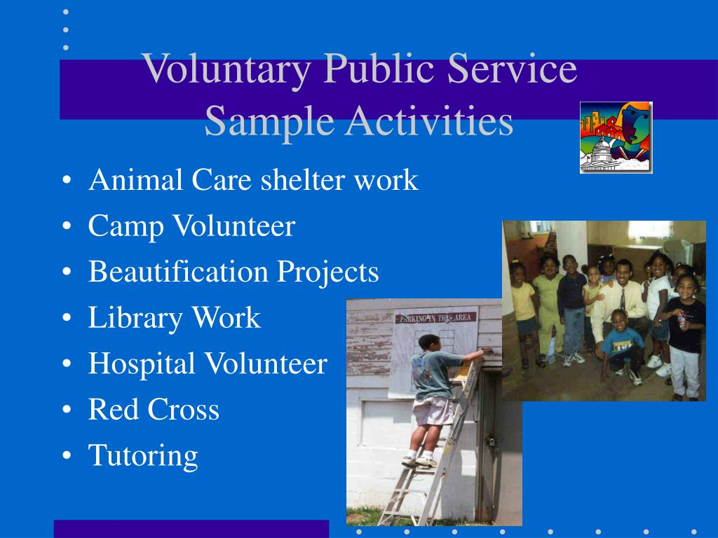 Voluntary Public Service