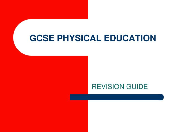 Gcse physical education l.jpg