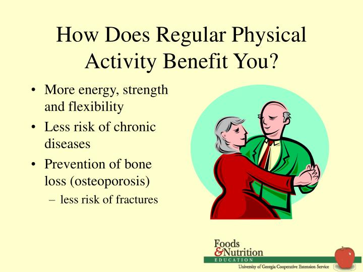 How does regular physical activity benefit you
