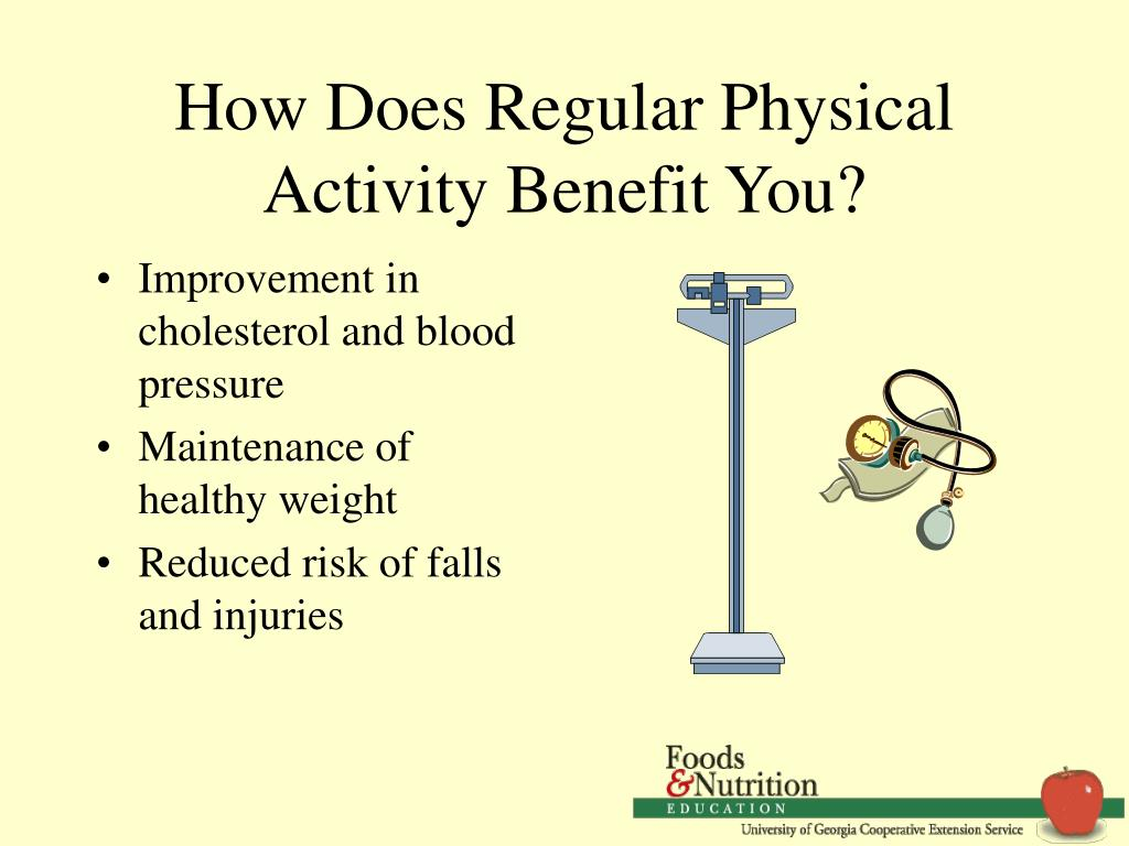 How Does Regular Physical Activity Benefit You?