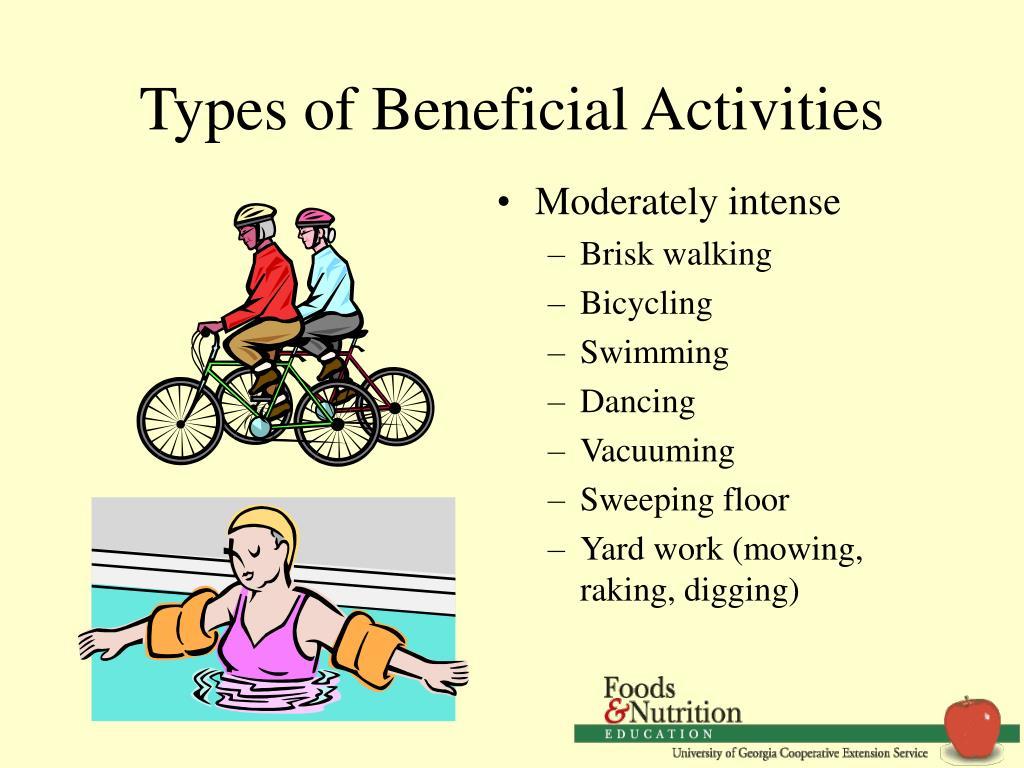Types of Beneficial Activities