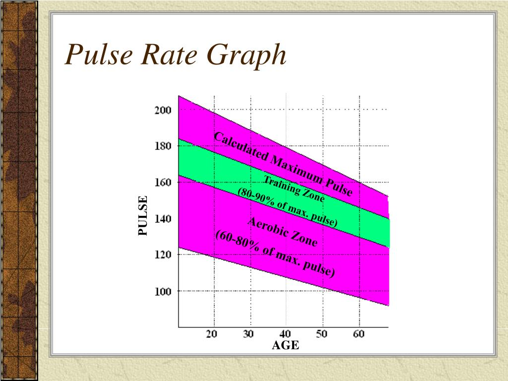 Pulse Rate Graph