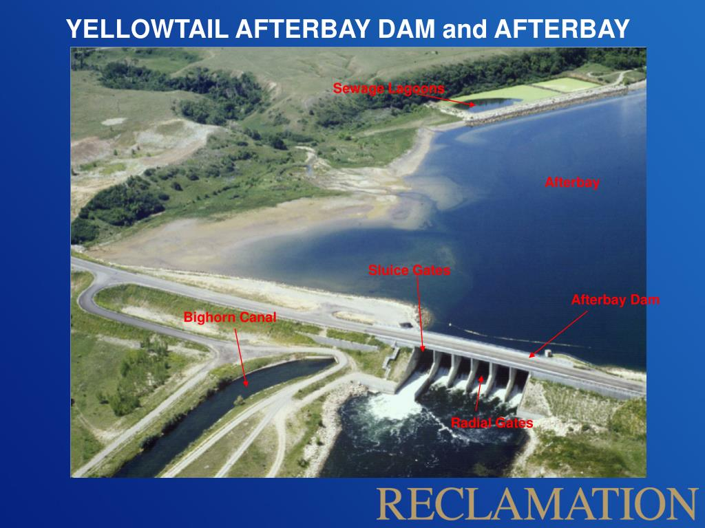 YELLOWTAIL AFTERBAY DAM and AFTERBAY