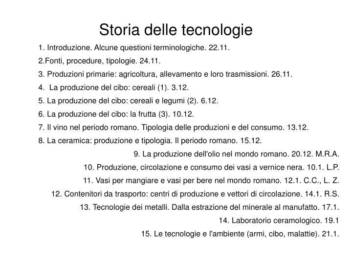 1. Introduzione. Alcune questioni terminologiche. 22.11.