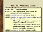 step 12 welcome crisis57