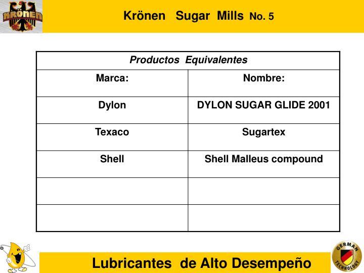 Krönen   Sugar  Mills