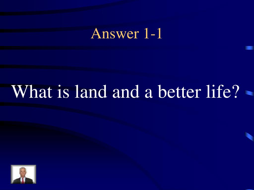 Answer 1-1
