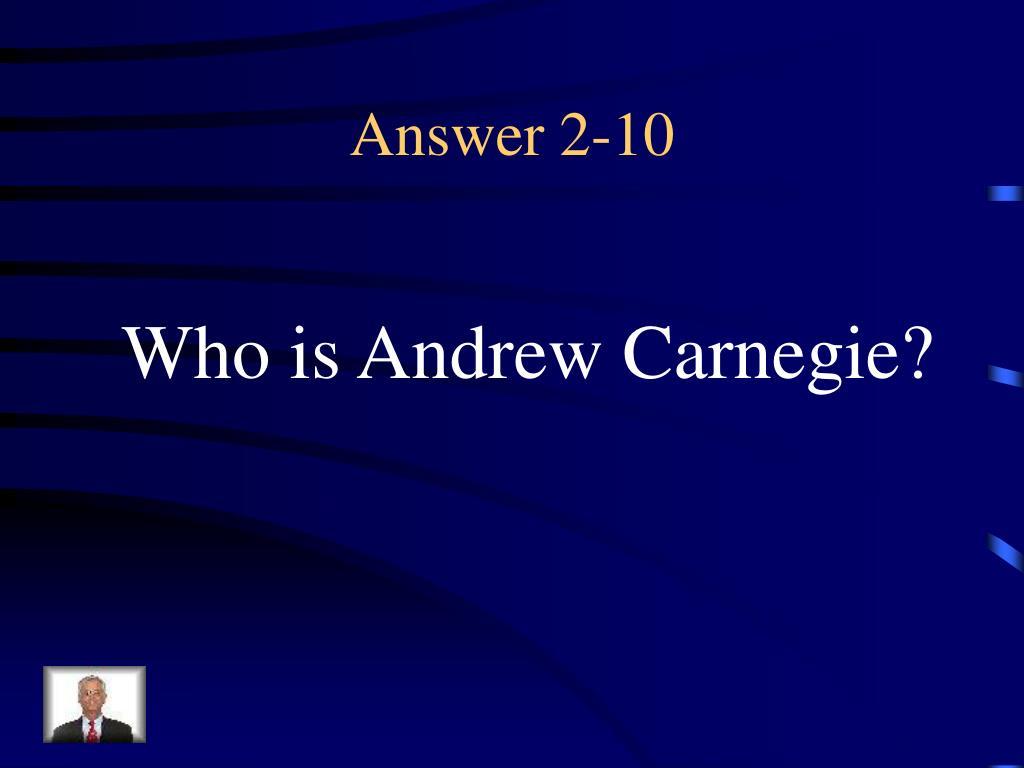 Answer 2-10