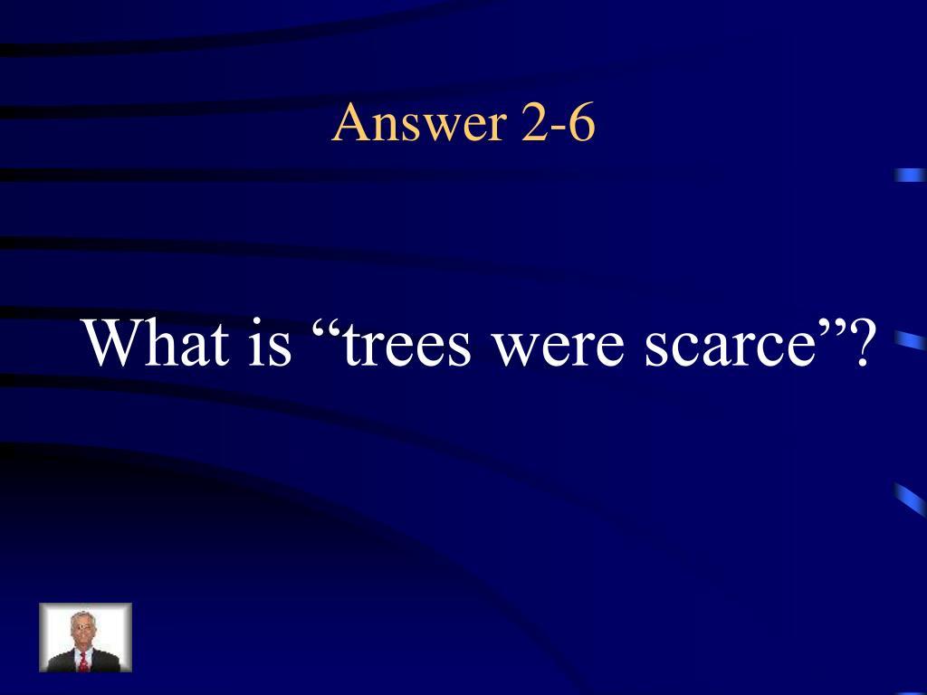 Answer 2-6