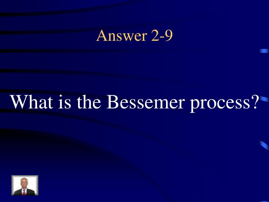 Answer 2-9