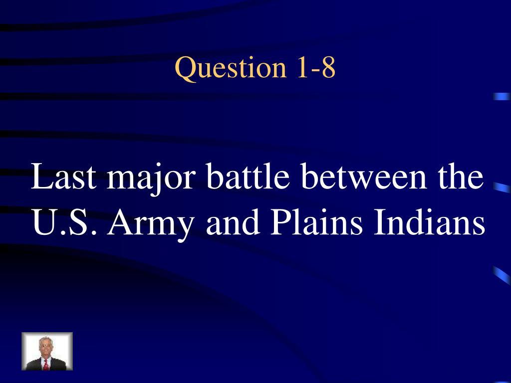 Question 1-8