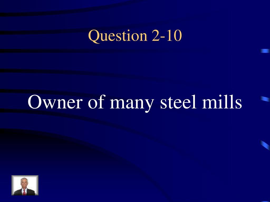 Question 2-10