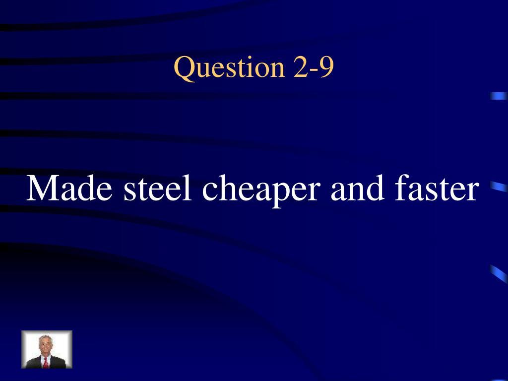 Question 2-9