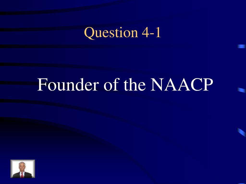 Question 4-1