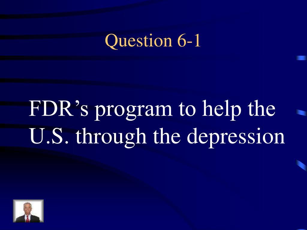 Question 6-1