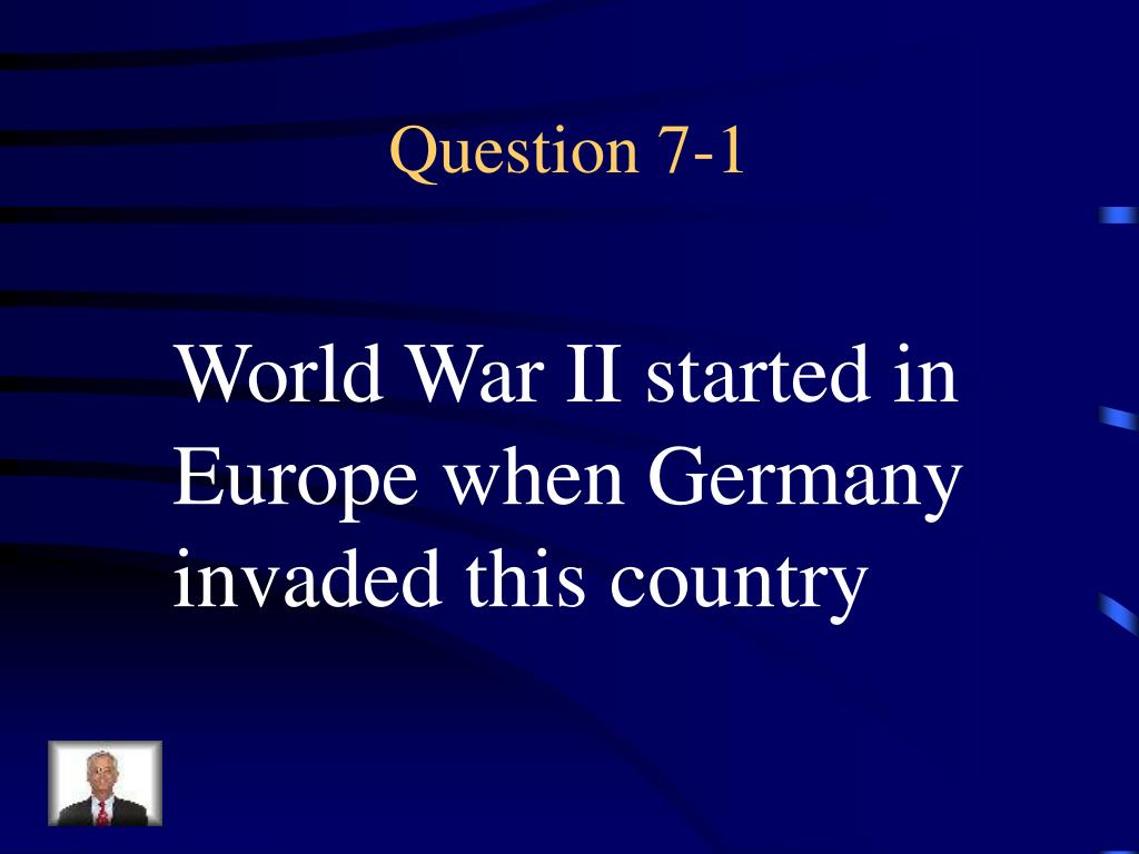 Question 7-1