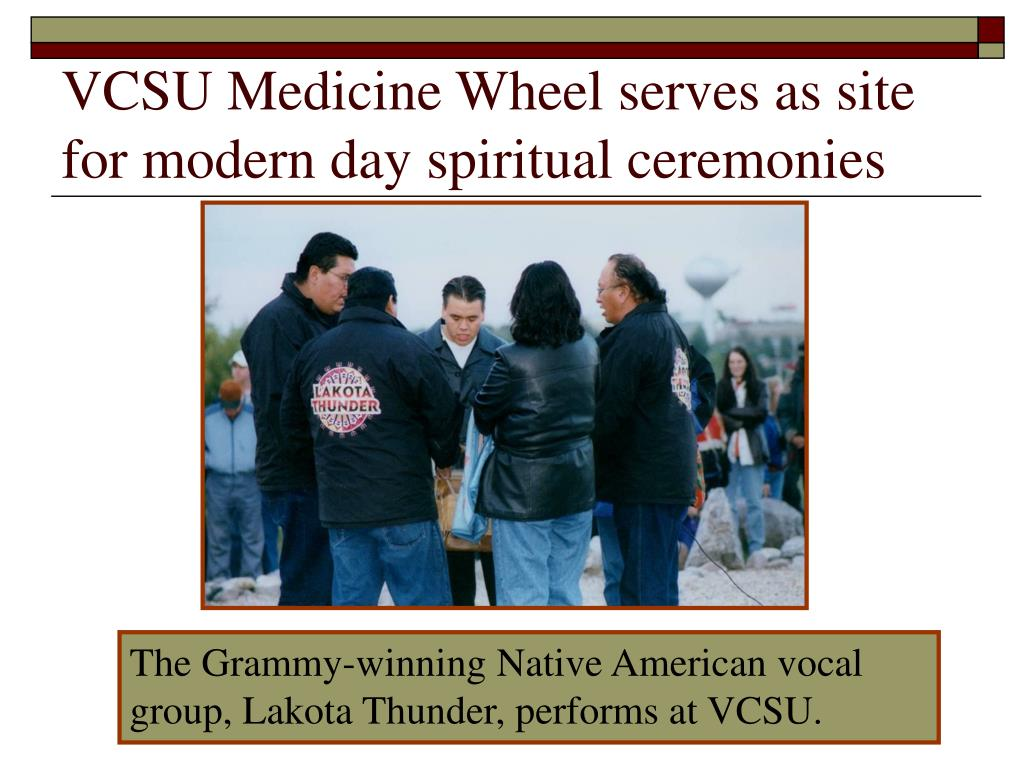 VCSU Medicine Wheel serves as site for modern day spiritual ceremonies
