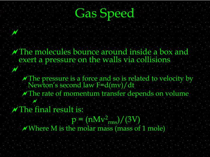 Gas Speed