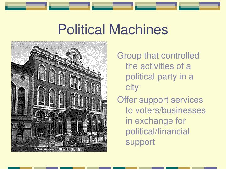 what is the political machine