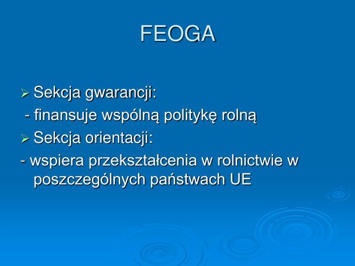 FEOGA