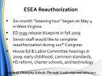 esea reauthorization1