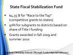 state fiscal stabilization fund3