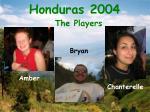 honduras 2004