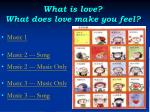 what is love what does love make you feel