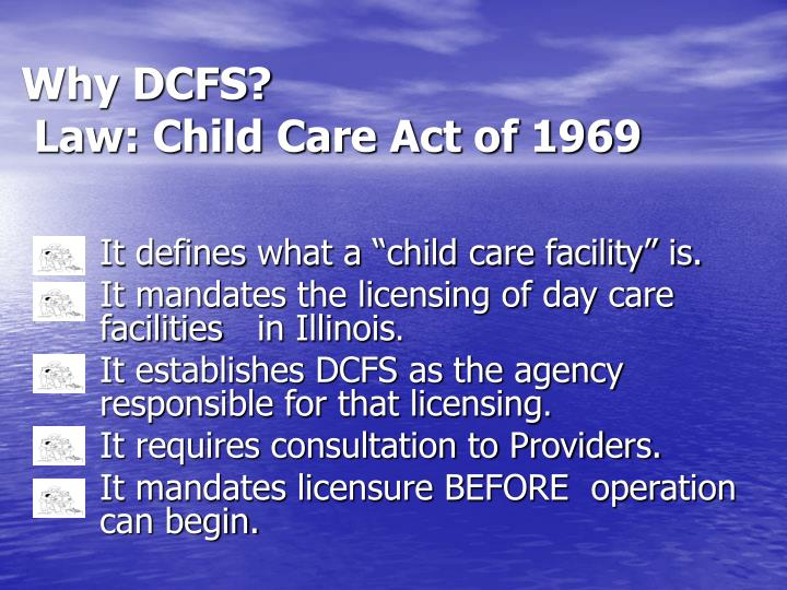 Why DCFS?
