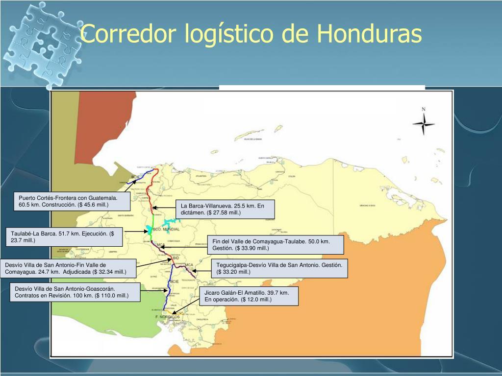 Corredor logístico de Honduras