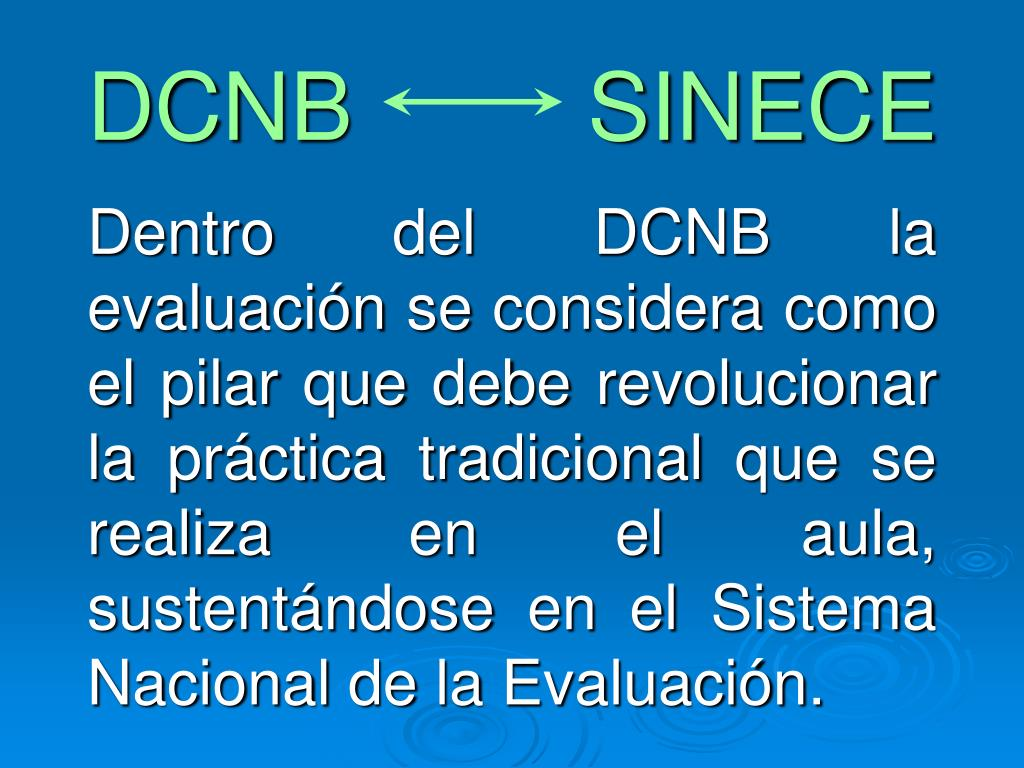 DCNB         SINECE