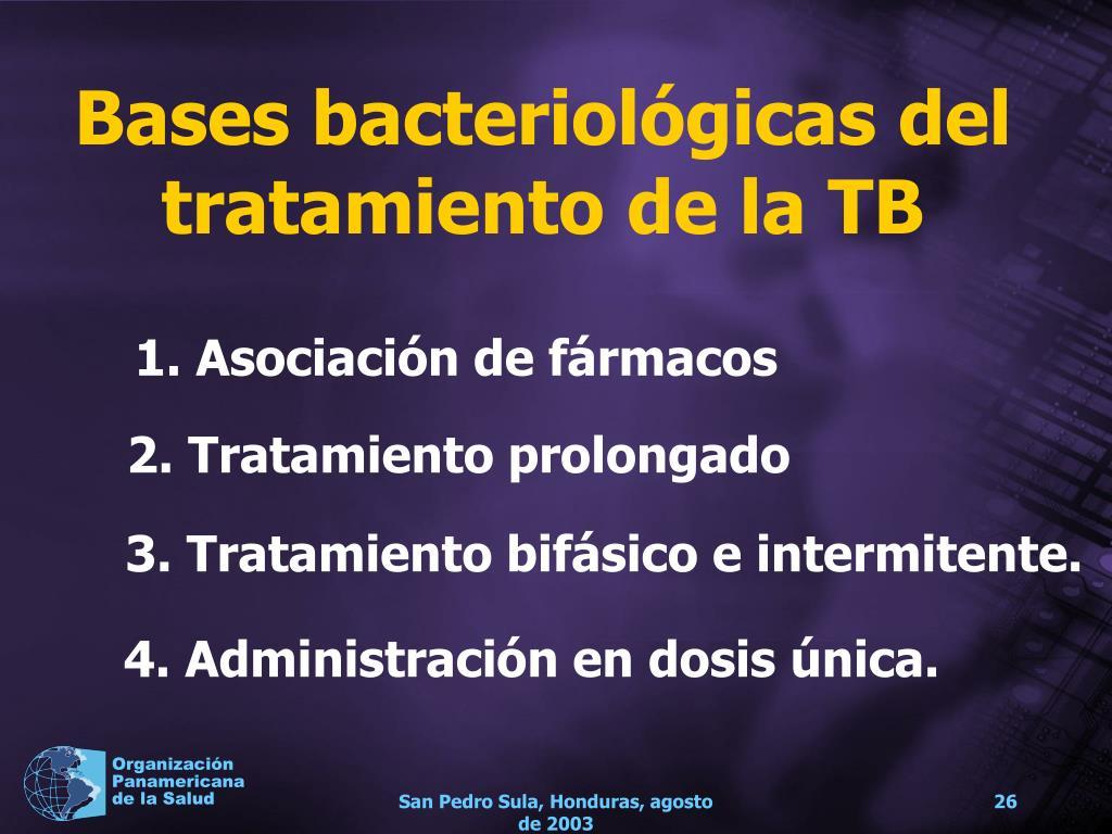 Bases bacteriológicas del