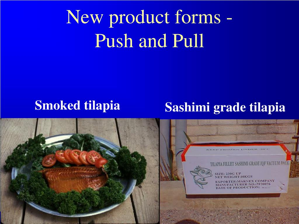 New product forms -