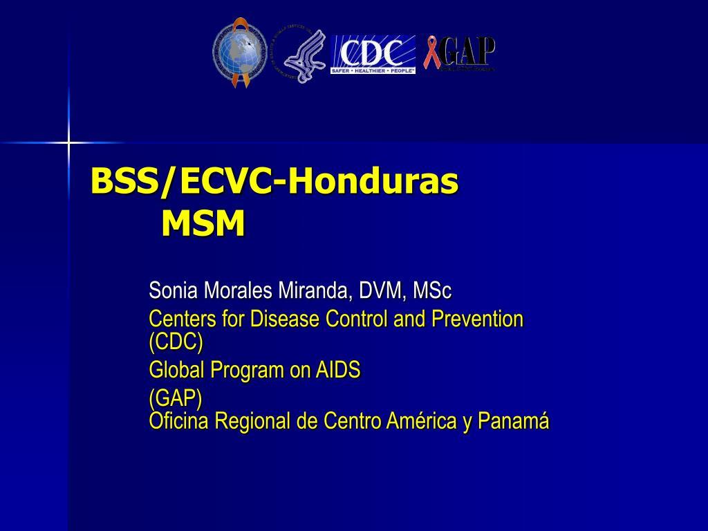 BSS/ECVC-Honduras