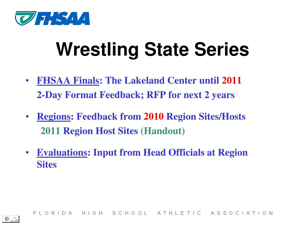 FHSAA Finals