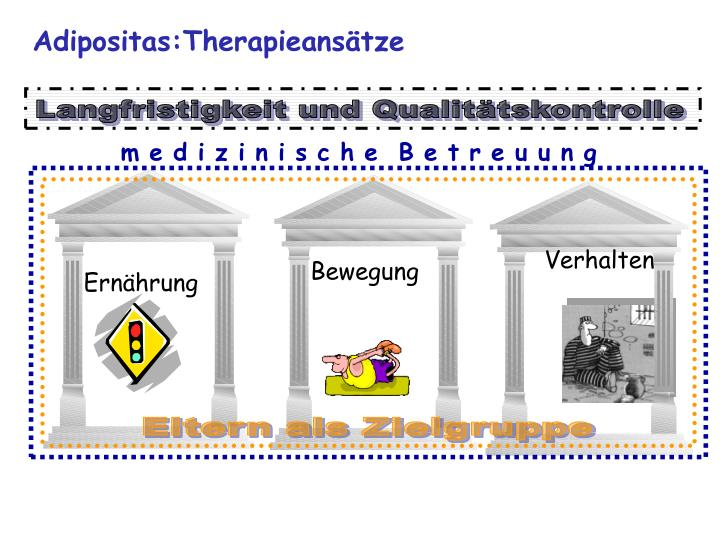 Adipositas:Therapieansätze