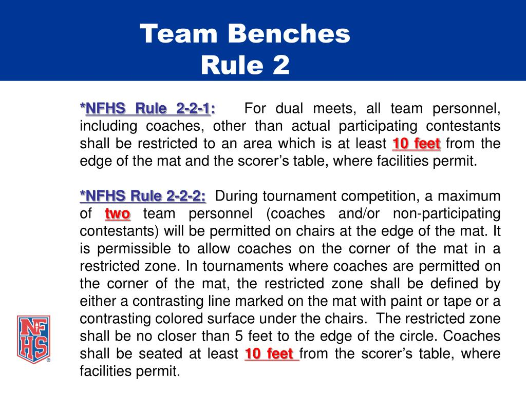 Team Benches