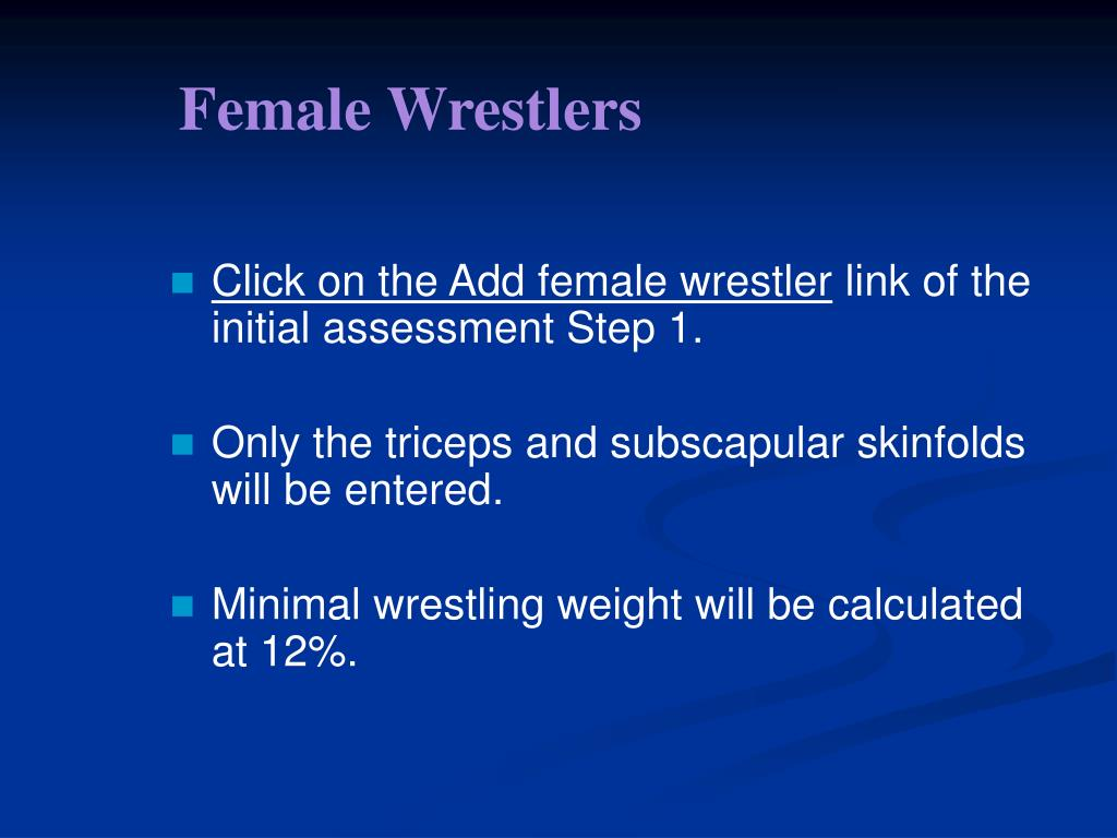 Female Wrestlers