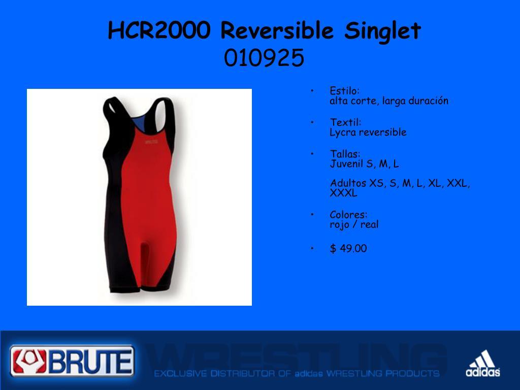 HCR2000 Reversible Singlet