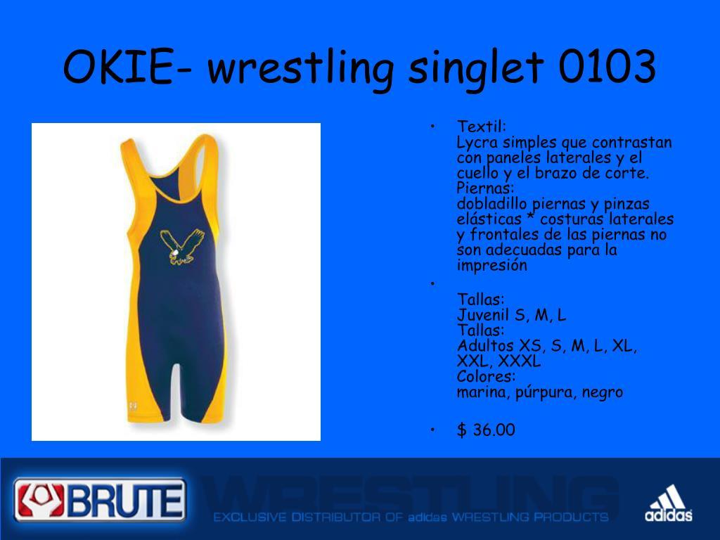 OKIE- wrestling singlet 0103