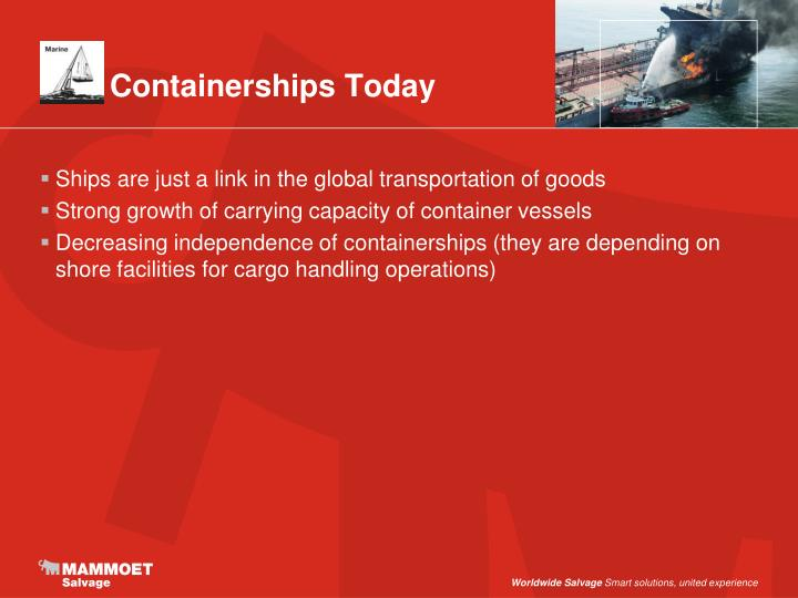 Containerships Today