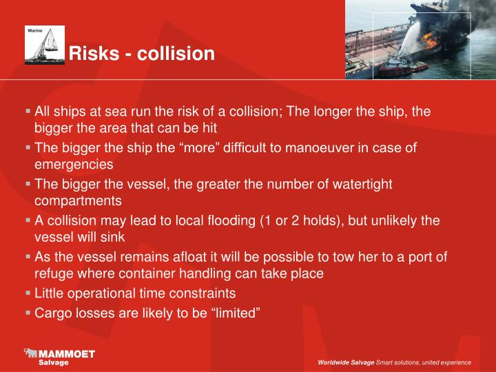 Risks - collision