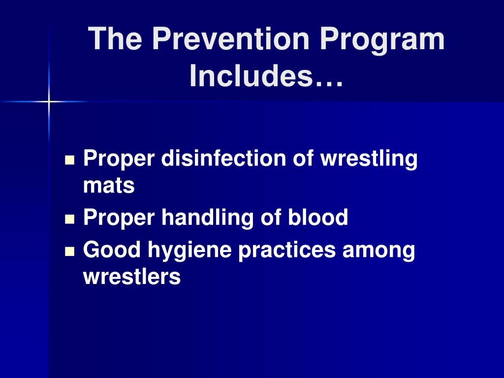 The Prevention Program