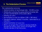 ii the dollarization process24
