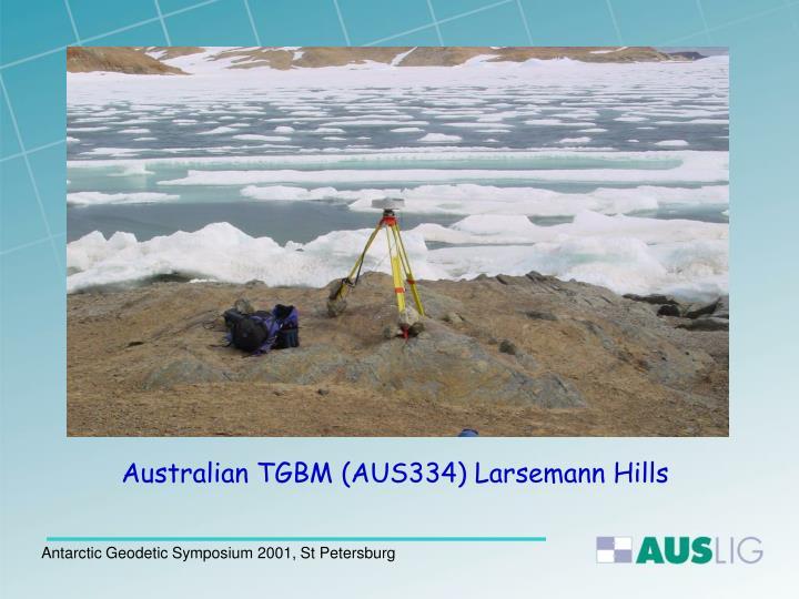 Australian TGBM (AUS334) Larsemann Hills