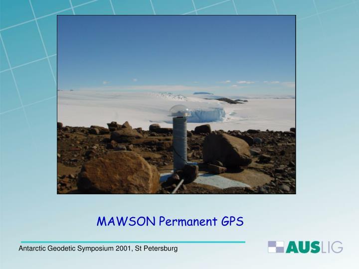MAWSON Permanent GPS